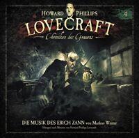H.P. LOVECRAFT - CHRONIKEN DES GRAUENS-FOLGE 4 DIE MUSIK DES ERICH ZANN  CD NEU