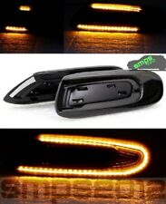 Mini F56 LED Scuttle indicators Smoked Dynamic side changeable, Cooper S, JCW