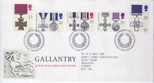 GB Stamps First Day Cover Gallantry Medals, Victoria Cross etc. SHS Wreath 1990