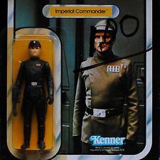 Star Wars ESB Kenner Vintage Imperial Commander 41 Back MOC Carded Figure