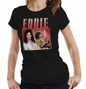 Rock Eddie Van Halen Appreciation Tshirt Unisex /& Kids Legend Guitar Music