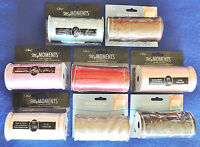 "Offray Double-Face Satin Sash Ribbon 100% Polyester 4"" x 3yds My Moments New"