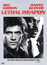 Lethal Weapon DVD 1987 Action, Mel Gibson, Danny Glover, Gary Busey, Mitchell Ry