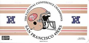 Lot of 3 San Francisco 49ers Champion Super Bowl XXIV & XXIX Souvenirs