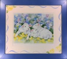 """Pencil-Signed Limited Edition Lithograph by Lynn Greer: """"Feeling Sheepish"""""""