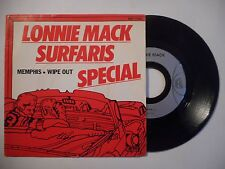 45t PORT 0€ ▓ LONNIE MACK : MENPHIS / WIPE OUT