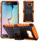 Housse Etui Coque Rigide Anti Choc Armor Hybrid Pour Samsung Galaxy S6 Edge