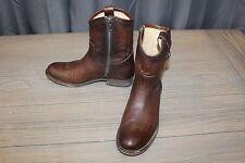 Frye Women's Melissa Button Short Boots - Dark Brown - Size 7