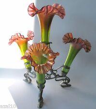 Kristall Glasvase  Ein Pracht Exemplar in Jugendstil /  Art Nouveau 2014
