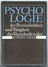 Psicologia della personalità e attività del vorschulkindes 1971