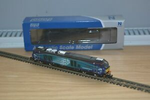 """DAPOL N GAUGE CLASS 68 NO. 68001 """"EVOLUTION"""" IN DRS LIVERY, DCC READY."""