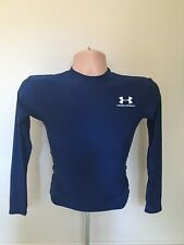 Mens Under Armour Running Training Compression T Shirt Top Size S