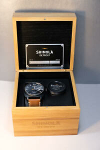 MEN'S SHINOLA ARGONITE-715 WATCH IN ORIGINAL PACKAGING
