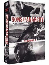 Sons Of Anarchy - Serie Tv - 3^ Stagione - Cofanetto Con 4 Dvd - Nuovo Sigillato