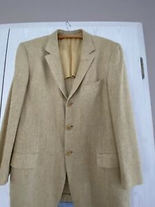 ERMENEGILDO ZEGNA COUTURE Sakko Jacket       100% Seide Gr 52 neuw