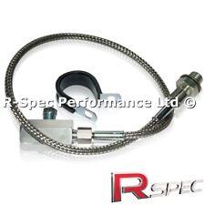 M10 x 1mm - 1/8 NPT VW Audi VAG 1.8T Oil Pressure Gauge Sensor Remote Adaptor