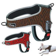 Reflective No Pull Dog Harness Soft Mesh Pet Walking Vest for Medium Large Dogs