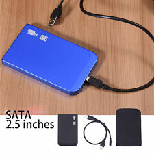 For Laptop PC Ultrathin 2.5inch SATA Hard Drive Enclosure External HD HDD Case