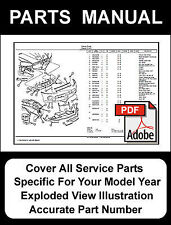 1995 - 2008 Chrysler Sebring 2.0L 2.4L 2.5L 2.7L 3.0L 3.5L Engine Parts Manual