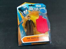 Doctor Who Tenth Dr Wave 3 10th Action Figure BBC Long Coat David Tennant Tardis