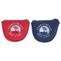 Pebble Beach Magnetic Mallet Putter Cover Headcover for scotty Cameron Odyssey