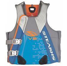 Coleman Stearns Women's Medium V2 Series Neoprene V-Flex Life Jacket Vest, Blue