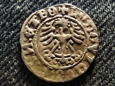 German States Ludwig Jagiellon (1516-1526) 1/2 Groschen Silver Coin 1526
