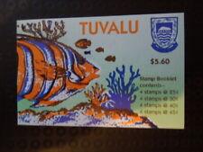G216  STAMPS   TUVALU  1979  MARINE  FISH  BOOKLET  MNH