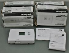 (4) Honeywell Pro 1000 Heat-Only Thermostat Th1100Dh1004, Non-Programmable