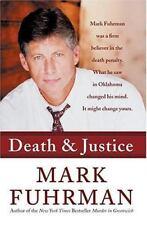Death and Justice * Mark Fuhrman Death Penalty pb 2004 True Crime