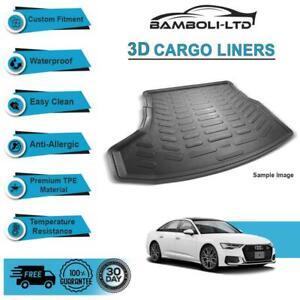 Fit for AUDI A6 SEDAN 2013-2019, Rear Liner Rubber 3D Cargo Trunk Mat