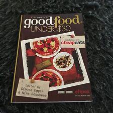 THE AGE GOOD FOOD UNDER $30, MELBOURNE CHEAP EATS. SIMONE EGGER, 9781921486579