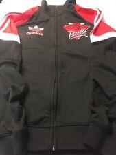 mens ADIDAS Chicago Bulls track jacket size Large