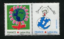 France - Paire neufs TTBE YT n° 3991 + 3992 : Dessine ton voeu - 2006