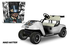 EZ-Go TXT Golf Cart Hood Graphics Kit Decal Sticker EZGO Wrap 1994-2013 MAD HAT