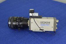 Hitachi KP-D50 color digital camera KP-D50U w rainbow tv zoom lens h6x8 8-48mm