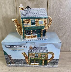 Coronation Street Ceramic Teapot Rovers Return Annie Rowe - See Description