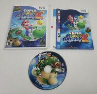 Super Mario Galaxy 2 (Nintendo Wii, 2010) CIB Complete w/Manual