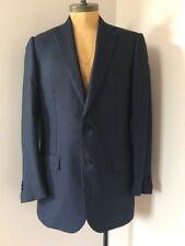 Ermenegildo Zegna Su Misura Sport coat jacket sz 52 L 42 US blue Cashmere & Silk