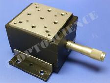 Newport MVN80 Vertical Translation Stage / Lab Jack with BM17.25 Micrometer