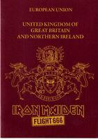 Iron Maiden Edward The Head Promo Passport 2009