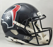 HOUSTON TEXANS NFL Riddell SPEED Full Size AUTHENTIC Football Helmet