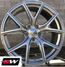 "20"" inch RW Wheels for Jeep Grand Cherokee 20x9"" Hyper Silver SRT Night Rims 5x5"