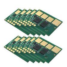 10 x Toner Reset Chip  For Lexmark E460DN  '' E460X11A '' 15K