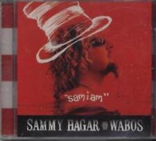 "Sammy Hagar And The Wabos: ""Sam I Am"" PROMO Music CD 1 track HTF Van Halen SEAL!"