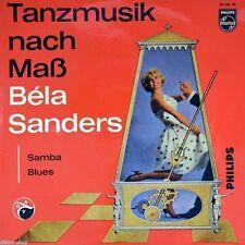 "7"" Tanzmusik nach Mass BELA SANDERS Samba / Blues..Little Dipper PHILIPS EP 1962"