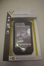 Topeak SmartPhone DryBag: Fits iPhone 4/4S Bicycle handlebar & Stem mount black