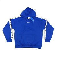 Adidas Originals TNT Tape Trefoil Logo Hoody Mens XL Blue Sweatshirt CE1636
