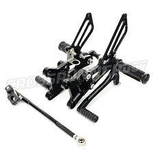 Motorcycle Adjustable CNC Rear sets Footpegs for Honda CBR600F4i 01-07 Racing