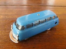 SCHUCO Blechauto Uhrwerk MIRAKO Bus 1004 blau US Zone Original Schlüssel läuft